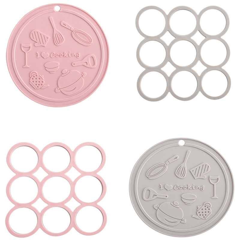 Promotional Custom Cheap Silicone Cup Mat/Coaster