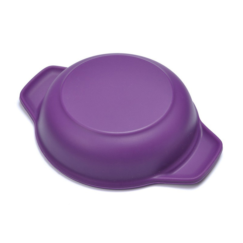 Wholesale Colorful Easy Silicone Collapsible Pet Feeding Bowl